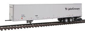 Bowser 53 Dura Plate Roadrailer Norfolk Southern #364176 HO Scale Model Train Freight Car #40830