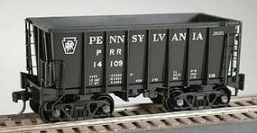 Bowser G-39 Ore Jenny w/Crown Trucks Pennsylvania Railroad HO Scale Model Train Freight Car #40862