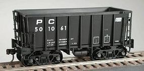 Bowser G-39 Ore Jenny w/Crown Trucks Penn Central #500998 HO Scale Model Train Freight Car #40868