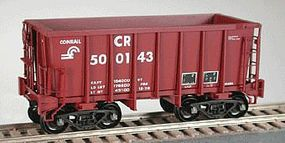 Bowser G-39a Ore Jenny w/Friction Trucks Conrail #502400 HO Scale Model Train Freight Car #40886