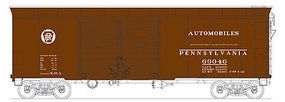 Bowser X31a Double Door Boxcar Pennsylvania RR #69066 HO Scale Model Train Freight Car #41043