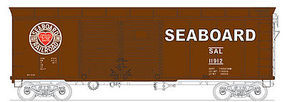 Bowser X31a Double Door Box Seaboard #11910 HO Scale Model Train Freight Car #41059