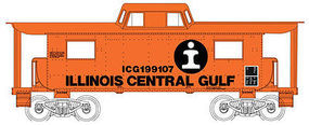 Bowser N8 Caboose Illinois Central Gulf #199105 HO Scale Model Train Freight Car #41111