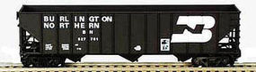 Bowser 100 Ton Hopper Burlington Northern #522096 HO Scale Model Train Freight Car #41159
