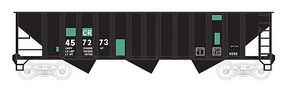 Bowser 70 Ton 12 Panel Hopper Conrail #457273 HO Scale Model Train Freight Car #41251