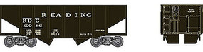Bowser 55 ton Fishbelly Hopper Reading #80089 HO Scale Model Train Freight Car #41388