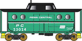 Bowser N5c Caboose Penn Central #23034 HO Scale Model Train Freight Car #41447