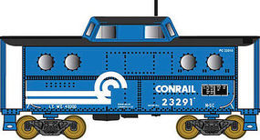 Bowser N5c Caboose Conrail #23123 HO Scale Model Train Freight Car #41450