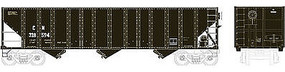 Bowser 100-Ton 3-Bay Open Hopper CNxC&O #328594 HO Scale Model Train Freight Car #41504