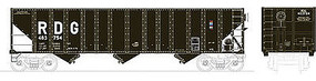 Bowser 100-Ton 3-Bay Open Hopper Reading #483754 HO Scale Model Train Freight Car #41526