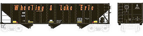 Bowser 100-Ton 3-Bay Open Hopper Wheeling & Lake Erie #645 HO Scale Model Train Freight Car #41533