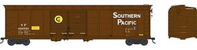 Bowser 50 Double-Door Boxcar - Ready to Run Southern Pacific #606577 (Boxcar Red, yellow Circle C Markings)