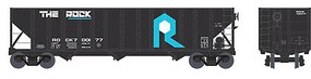 Bowser 100-Ton 3-Bay Hopper - Ready to Run - Executive Line Rock Island #700180 (black, blue, white)