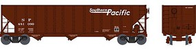 Bowser 100-Ton 3-Bay Hopper - Ready to Run - Executive Line Southern Pacific #481165 (Boxcar Red, Speed Lettering)