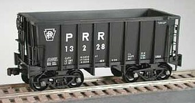 Bowser Class G-39a 70-Ton Ore Jenny with Friction-Bearing Trucks - Ready to Run Pennsylvania Railroad 13024 (black, Large PRR)