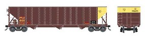 Bowser 100-Ton 3-Bay Open Hopper - Ready to Run - Executive Line Pennsylvania Power & Light PPLX 623 (Boxcar Red, yellow)