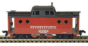 Bowser N-5C Caboose Kit Pennsylvania Railroad Eastern Region HO Scale Model Train Freight Car #54023