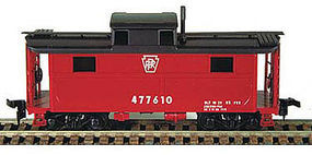 Bowser N5 Caboose Pennsylvania New Style HO Scale Model Train Freight Car #55009
