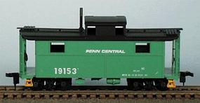Bowser N5 Caboose Penn Central (D) HO Scale Model Train Freight Car #55011