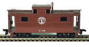 Bowser N5 Caboose Boston & Maine Minute Man Logo HO Scale Model Train Freight Car #55033