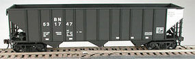 Bowser 100-Ton 3-Bay Hopper Kit Burlington Northern HO Scale Model Train Freight Car #55169