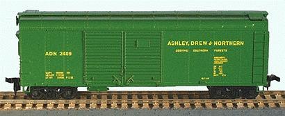 40 X 31 Round Roof Double Door Steel Box Car Ashley Drew