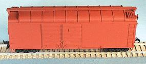 Bowser 40 X-31F Turtle Roof Double-Door Steel Box Car HO Scale Model Train Freight Car #55363