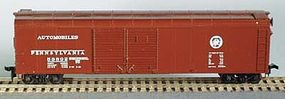 Bowser 50 Round Roof Double-Door Box car Pennsylvania HO Scale Model Train Freight Car #55402