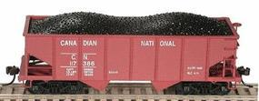 Bowser GLA 2-Bay Hopper Kit - Canadian National #117182 HO Scale Model Train Freight Car #56380