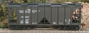 Bowser 70 ton 2-bay Covered Hopper 112 HO Scale Model Train Freight Car #56712