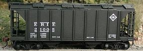 Bowser 70-Ton 2-Bay Closed Side Covered Hopper Kit Erie HO Scale Model Train Freight Car #56778