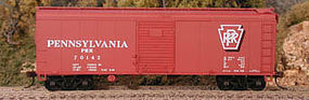 Bowser 40 X-31 Round Roof Single-Door Steel Box Car - Kit HO Scale Model Train Freight Car #56827