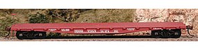 50' Class F-30a Flatcar - Kit - Pennsylvania Railroad HO Scale Model Train Freight Car #56844