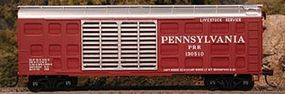 Bowser K-11 40 Stock Car Kit Pennsylvania Railroad #130516 HO Scale Model Train Freight Car #56853
