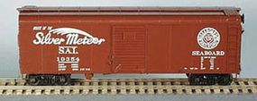 Bowser 40 X-31a Round Roof Single-Door Steel Boxcar Kit HO Scale Model Train Freight Car #56856