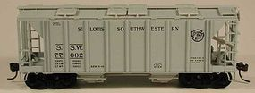 Bowser 70 Ton 2-Bay Hopper #77016 HO Scale Model Train Freight Car #56950