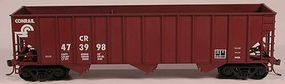 Bowser 100 Ton 3-Bay Hopper Conrail 474037 HO Scale Model Train Freight Car #56957