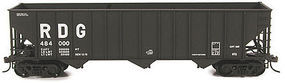 Bowser 100-Ton 45 3-Bay Hopper - Kit - Reading #484442 HO Scale Model Train Freight Car #56974
