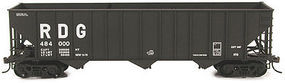 Bowser 100-Ton 45 3-Bay Hopper - Kit - Reading #484450 HO Scale Model Train Freight Car #56975