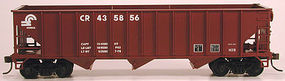 Bowser 70 ton Triple Hopper Conrail 435892 HO Scale Model Train Freight Car #56978