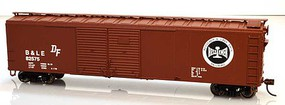 Bowser 50 4-Door Boxcar B&LE #82575 HO Scale Model Train Freight Car #60025