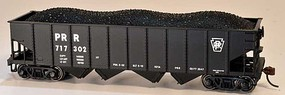 Bowser PRR H-21a 4-Bay Hopper - Kit Pennsylvania Railroad 717323 (black, Keystone Only)