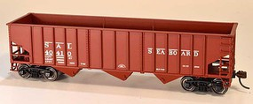 Bowser 14-Panel 3-Bay Hopper - Kit Seaboard Air Line 40410 (Boxcar Red)
