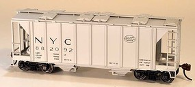 Bowser 70-Ton Covered Hopper with Closed Sides - Kit New York Central 882052 (gray, System Logo)