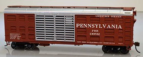 Bowser K11 Stock Car Pennsylvania Silver Roof #130543 HO Scale Model Train Freight Car #60131