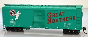 Bowser HO 40 Generic Boxcar Great Northern #27005 HO Scale Model Train Freight Car #60180