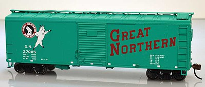 Bowser Manufacturing Co. 40' Boxcar Great Northern #40040 -- HO Scale Model Train Freight Car -- #60181