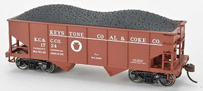 Bowser HO GLa 2-Bay Hopper Keystone Coal & Coke Co. #1714