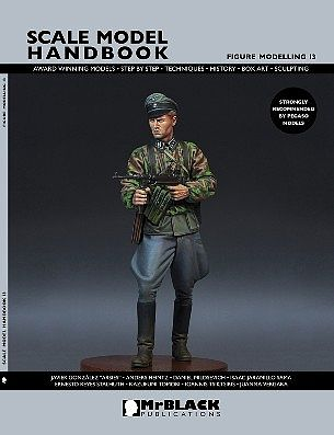 Mr Black Publications Scale Model Handbook- Figure Modelling Vol.13 -- Detailing Model Figure Book -- #13