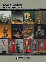 MrBlack Scale Model Handbook- WWII Special Detailing Model Figure Book #3311